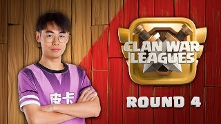 Clan War Leagues Season 3 - Round 4 - Clash of Clans 3 Star Attacks