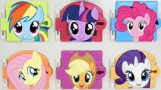 My Little Pony Trapped Doors Surprises Learn Colors and Matching
