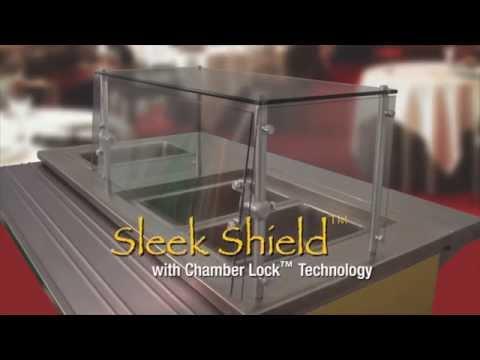 Sleek Shield™ by Advance Tabco - (Patent US 9,010,883 B2)
