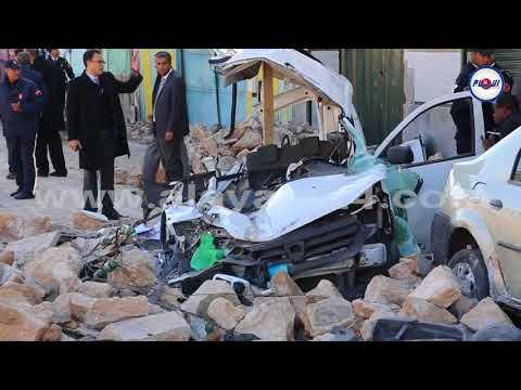 فيديو.. مشاهد مؤلمة بعيد سقوط سور بلفدير بالبيضاء