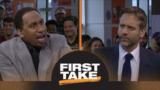 Stephen A. goes off on Max for saying Michael Jordan intimidated NBA players   First Take   ESPN