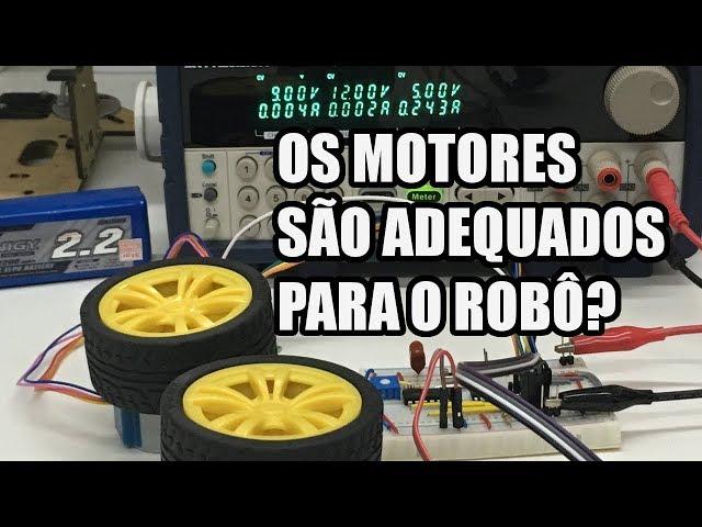 ANÁLISE PRÁTICA DOS MOTORES DE PASSO | Usina Robots US-3 #006