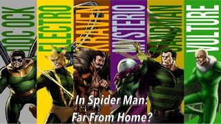 Will the Sinister Six make an appearance in Spider Man: Far From Home?