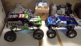 Traxxas Bigfoot Unboxing & Speed Mod