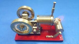 Động Cơ Stirling V4 Phiên Bản Mới CỰC HOT