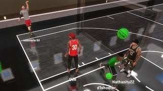 NBA 2k16 My Court Gameplay - TRYING TO SHUTOUT OPPONENT!