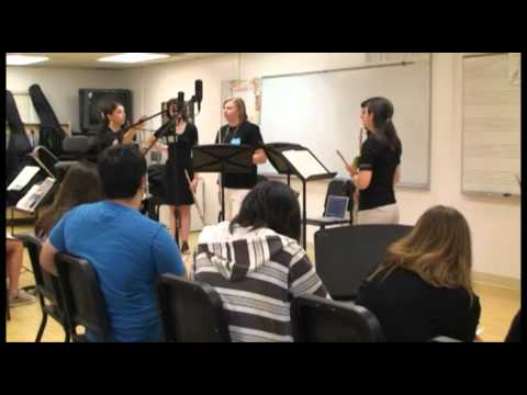 Areon Flutes Education! 2010 Areon Summer Flute Institute Master Class - Part 4
