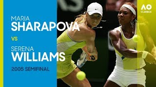 AO Classics: Serena Willams v Maria Sharapova (2005 SF)