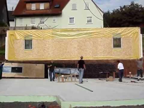 fertighaus aus polen fertigh user aufbau youtube. Black Bedroom Furniture Sets. Home Design Ideas