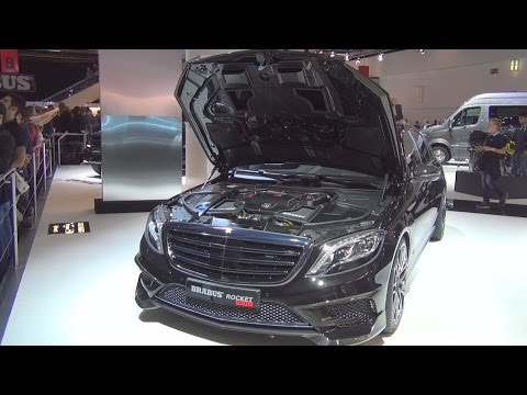 Mercedes-Maybach S600 Brabus Rocket 900 (2016) Exterior and Interior in 3D