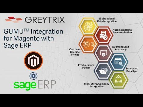 GUMU™ Integration for Magento with Sage ERP