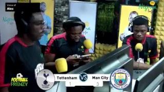 Tottenham v Manchester City LIve Commentary