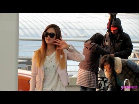 140322 SNSD-Yuri  Incheon airport