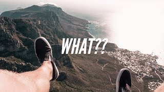 Is Table Mountain The Sickest View in Cape Town? Yes....