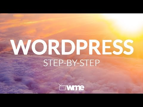 Wordpress Tutorial For beginners | How To Make A Website With WordPress Step By Step Video Training