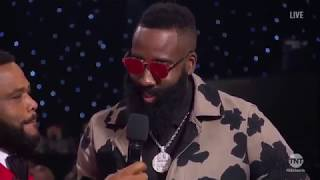 "All ""Roasting"" Moments From the 2018 NBA Award"