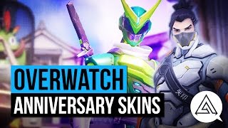 Overwatch | All New Anniversary Skins, Emotes, Voice Lines & More!