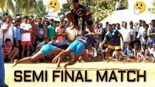 SEMI FINAL MATCH | Sentamil kabaddi club jolarpettai VS Annai sports morappur (ZAP SPORTS)
