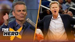 Colin Cowherd weighs on LaVar Ball's criticism of Steve Kerr | THE HERD