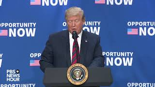 WATCH LIVE: Trump takes part in Opportunity Zone conference
