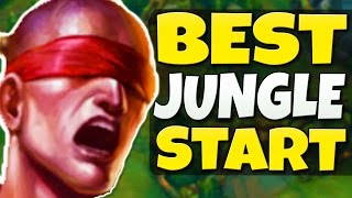 THE BEST JUNGLE START FOR SEASON 7 - Easy & Effective Route - League of Legends