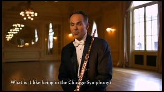 Mathieu Dufour talks about his career and Yamaha hand-made flutes