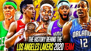 Dissecting the Los Angeles Lakers 2020 Team From NBA History