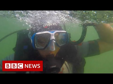 Cleaning up India's oceans - one dive at a time.