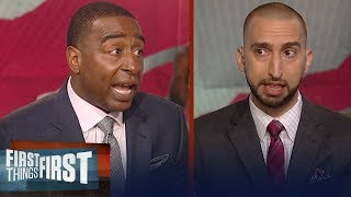 Cris Carter and Nick Wright on Kawhi Leonard's trade to Toronto Raptors | NBA | FIRST THINGS FIRST