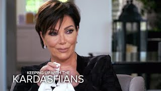 KUWTK | Kris Jenner Breaks Down Over Her Biggest Fear | E!