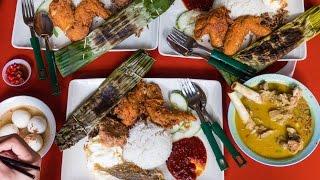 Famous Singaporean Food - Adam Road NASI LEMAK in Singapore!