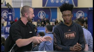 Collin Sexton Full Interview | May 17, 2018 | 2018 NBA Draft Combine Day 1