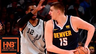 San Antonio Spurs vs Denver Nuggets - Game 7 - Full Game Highlights | 2019 NBA Playoffs