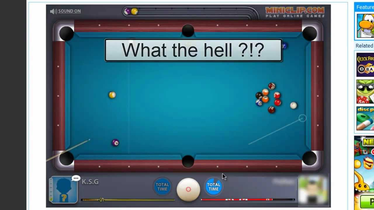 <b>Free 8 Ball Pool</b> Game - <b>Play</b> <b>online</b> at Y8.com