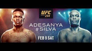 UFC 234: Adesanya vs Silva