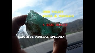 Ohio Treasure Hunting BEAUTIFUL Mineral Specimen Geology Rock Fossil