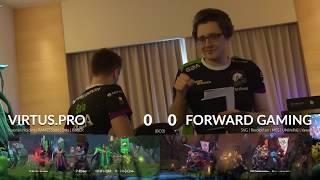 Virtus pro vs Forward Gaming KLMajor Highlights