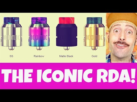 video Vandy Vape X Mike Vapes Iconic 24mm Rda