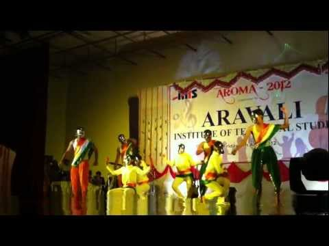AROMA 2012 - ARAVALI ( AITS ) Annual Function Student Performance 4