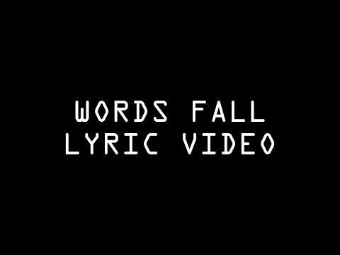 JOEY DJIA - Words Fall (Lyric Video)