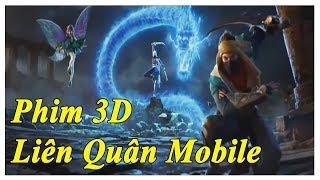 Phim liên quân mobile 3D Đại chiến Maloch Zephys Raz đối đầu Valhein butterfly và krixi Murad Airi