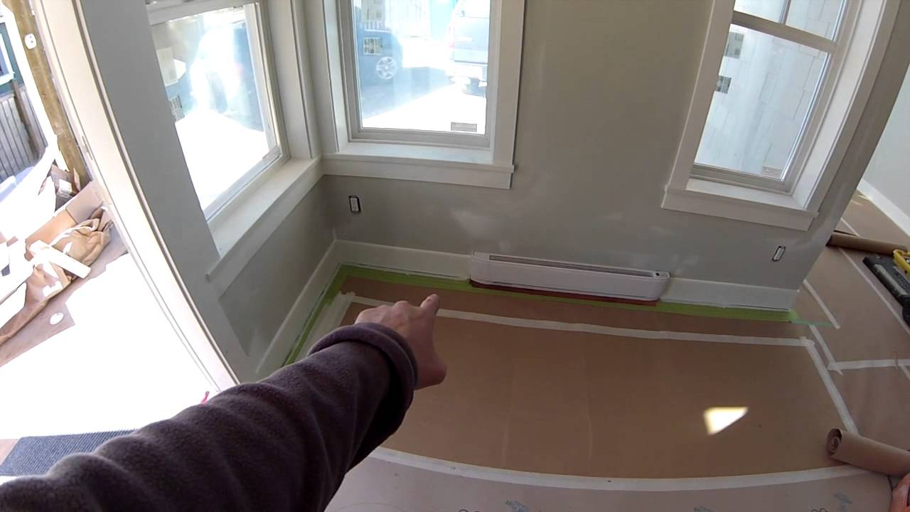 How To Protect Hardwood Floors During Construction Youtube