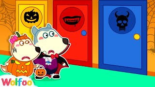 Wolfoo, Don't Open the Mysterious Door - Halloween Stories for Kids   Wolfoo Family Kids Cartoon