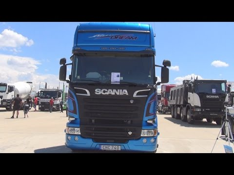 Scania R 620 LA 4x2 MNB Blue Dream Tractor Truck (2016) Exterior and Interior in 3D