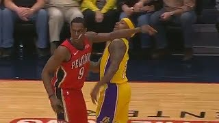 Rajon Rondo Hits Isaiah Thomas, Both Exchange Words and Get Ejected After Trash Talking!
