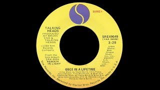The Talking Heads ~ Once In A Lifetime 1980 New Wave Xtension