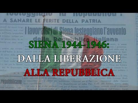 Siena 1944-1946: dalla Liberazione alla Repubblica