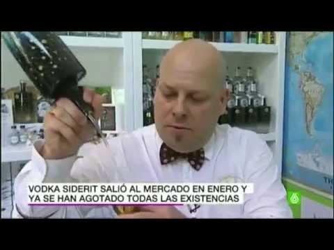 Destilería Siderit en la Sexta Noticias, la Ginebra Siderit.