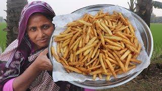 Crispy French Fries Recipe - Homemade Crispy Fries Recipe Cooking - How to Make Crispy French Fries