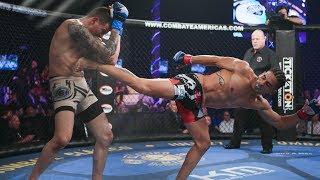 Alberto Montes vs Jonathan Quiroz Full Fight (English) | MMA | Combate Clasico